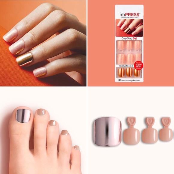 Kiss Other | Impress Dashing Diva Finger Toe Nails | Poshmark